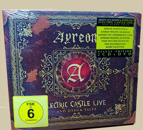 Electric Castle Live And Other Tales (Ed. Lda Digi.)