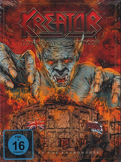 London Apocalypticon (Bluray+CD A5 Digipak)